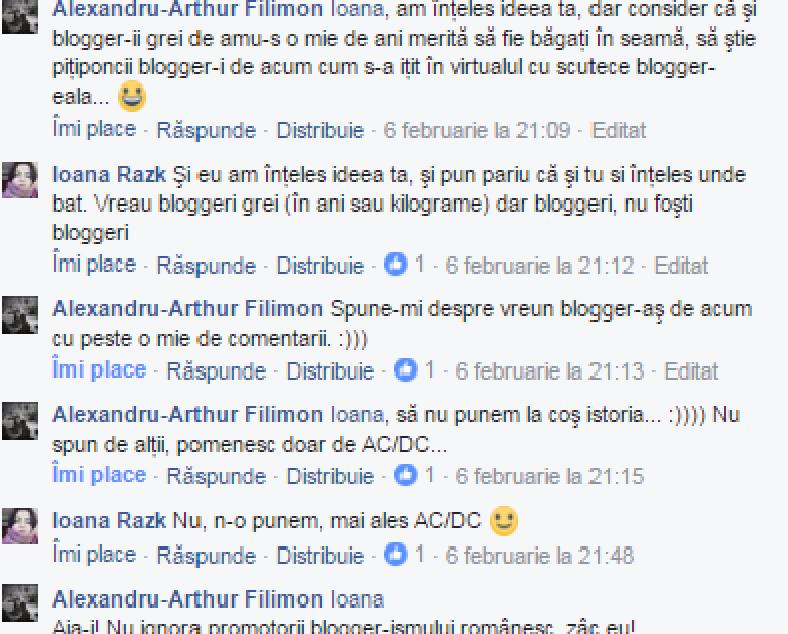 interviu cu Alexandru-Arthur Filimon